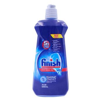 finish 亮碟 洗碗机专用漂洗剂 花香型 500ml