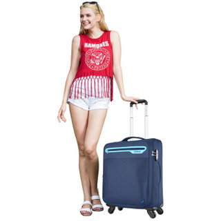 AMERICAN TOURISTER 美旅 Long Beach 63Q 拉杆软箱 28寸
