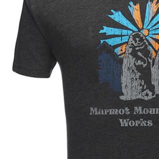 Marmot 土拨鼠 Q53610 男款运动短袖T恤