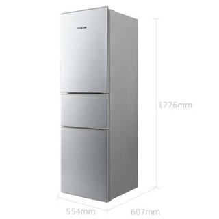 DIQUA 帝度 BCD-219TZ 三门冰箱 219L