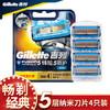 Gillette 吉列 锋隐致护冰酷刀片