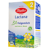 Töpfer 特福芬 有机婴幼儿奶粉 2段(6-10月)
