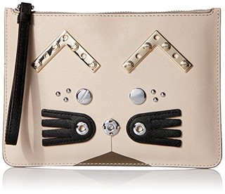 MARC BY MARC JACOBS Screwed Up Faces Gato Wristlet 女士手拿包