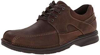 Clarks 其乐 Senner Blvd 男款真皮休闲鞋 棕色