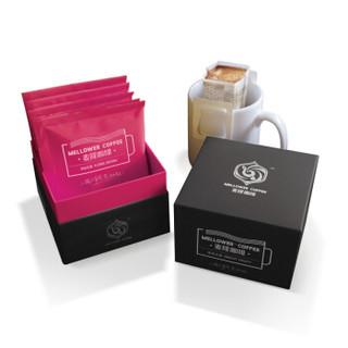 Mellower 麦隆咖啡 盒装挂耳纯黑咖啡粉 清新花香 10克*10包