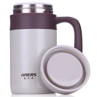 HAERS 哈尔斯 HTC-400B-3 健康陶瓷水杯 (400ml )