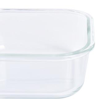 TAFUCO 泰福高 耐热玻璃保鲜盒 4件套 T-7604