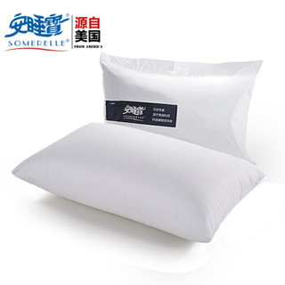 安睡宝(somerelle)枕芯 杜邦科技纤维枕头 哥特格致新一代安睡枕 酒店枕芯 48*74cm