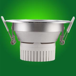 nvc-lighting 雷士照明 E-NLED9535LED 防雾防炫一体化筒灯 7W 开孔95mm 白光