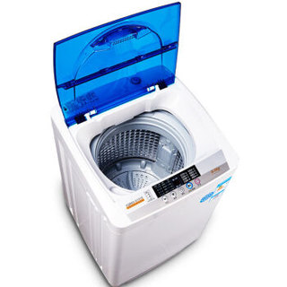 KEG 韩电 XQB60-D1518 6公斤 波轮全自动洗衣机(透明蓝)