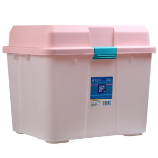 IRIS 爱丽思 540 亮彩环保滑轮储物箱 80L