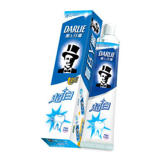 DARLIE 黑人 超白牙膏 90g