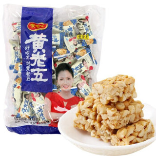 huanglaowu 黄老五 花生酥 椒盐味 500g *3件
