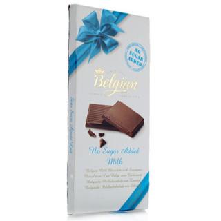 Belgian 白丽人 麦芽糖醇牛奶巧克力100g