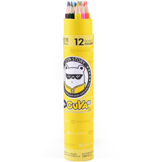 TRUECOLOR 真彩  CK-036-12 彩色铅笔 (12色)
