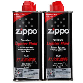 ZIPPO 之宝 常规经济款耗材Ⅱ(油*2+火石*2+棉芯)*4