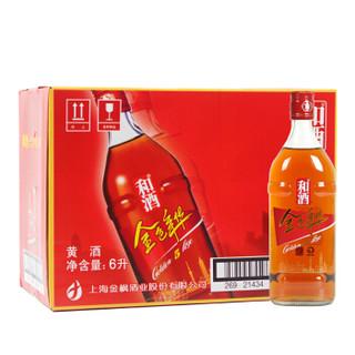 和酒 金色年华5年陈 特型半干黄酒 13.5度 500ml*12瓶