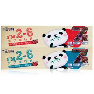 LG竹盐 2-6岁乳牙期 儿童牙膏 50g