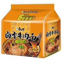 限地区:康师傅 卤香牛肉面 五连包