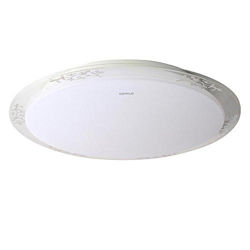 OPPLE 欧普 可调光调色 LED吸顶灯 暗花  22.5W