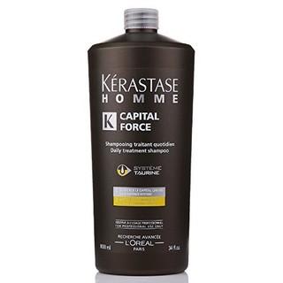 KÉRASTASE 卡诗 男士强韧系列 沁凉护发洗发水