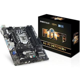 BIOSTAR 映泰 Hi-Fi H170S3H 主板(Intel H170/ LGA 1151)