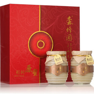 森蜂园 椴树原蜜礼盒装 450g*4瓶