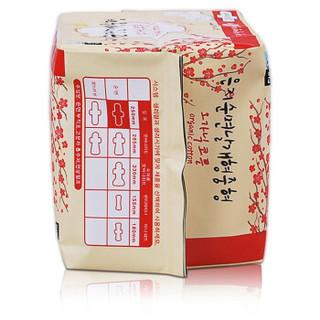 恩芝 纯棉日用卫生巾 250mm*16片
