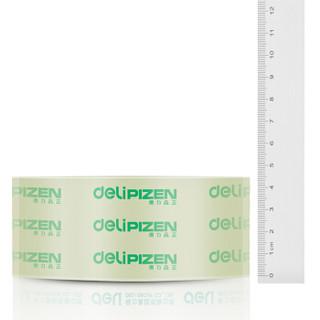 得力(deli)高品质高透明封箱胶带打包胶带45mm*60m*50um 6卷/筒 33192