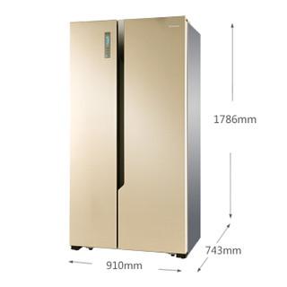Hisense 海信 BCD-619WT/Q 619升 风冷 对开门冰箱