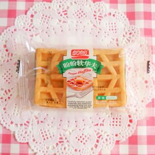 PANPAN FOODS 盼盼 软华夫饼干 原味 252g