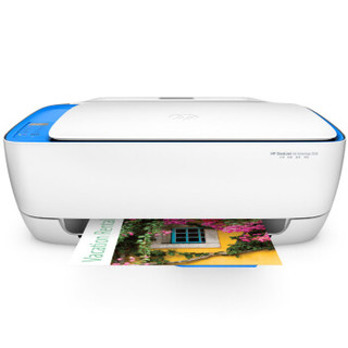 HP 惠普 惠省系列 DJ 3638 无线喷墨一体机 (打印 扫描 复印、无线,USB,云打印)