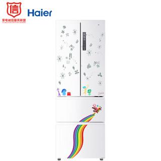 Haier 海尔 BCD-312WDHA(DZ) 312升 风冷多门冰箱