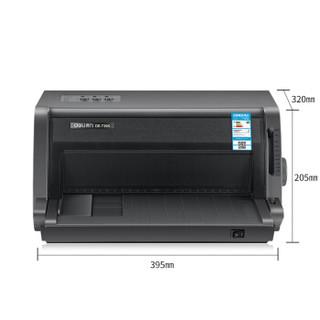 deli 得力 DE-730K 针式单据打印机 (针式打印、USB、A3、色带)