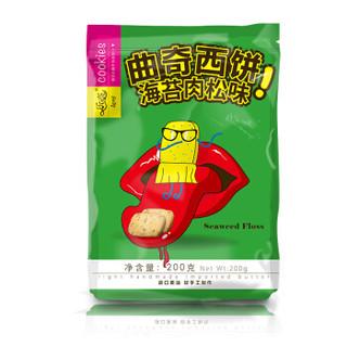 Leni 乐奈 曲奇饼干 海苔肉松味 200g
