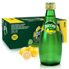 Perrier 巴黎水 气泡矿泉水 柠檬味 330m*24瓶