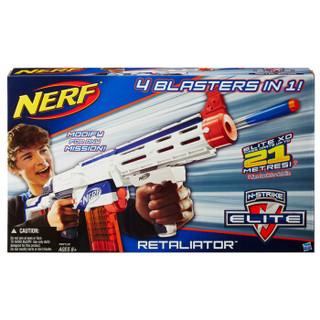 孩之宝(Hasbro)热火 精英系列 塑料 速瞄发射器(橙白黑) A0713