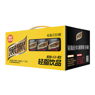 南方黑芝麻 黑黑乳轻脂饮品248ml*12盒
