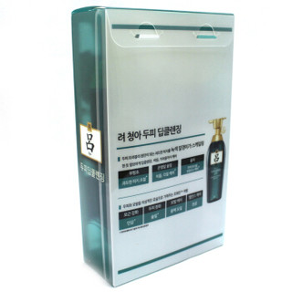 吕 (RYO) 绿吕洗发水两件套400ml+180ml 2瓶/盒  韩国进口