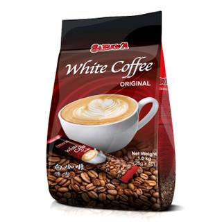 SABAVA 沙巴哇 白咖啡 原味 25g*40包