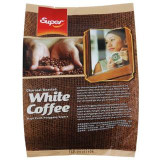 SUPER 超级牌 2合1炭烧白咖啡 25g*15包