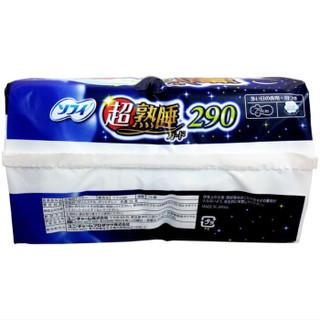 unicharm 尤妮佳 苏菲 超熟睡 夜用护翼卫生巾 290mm*18片