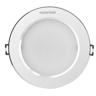 HONYAR 鸿雁 3W白光 LED筒灯(2.5寸、3W白光)