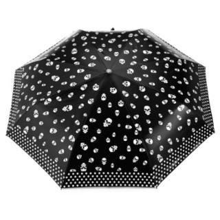 Paradise 天堂伞 靓胶三折晴雨伞 黑图外