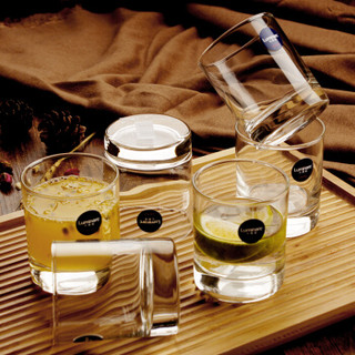 Luminarc 乐美雅 伊斯朗直身玻璃水杯 (200ml 6只装)