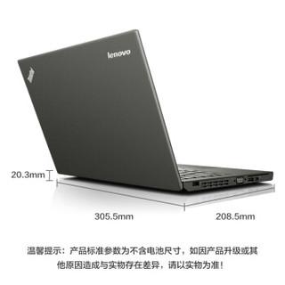 ThinkPad 思考本 X系列 X250(VFCD)12.5英寸 笔记本电脑 酷睿i5-5200U 4GB 128GB SSD 核显 黑色