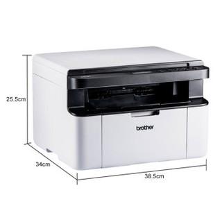 Brother 兄弟 DCP-1608 黑白激光多功能一体机 (打印、复印、扫描)三合一 黑色/白色