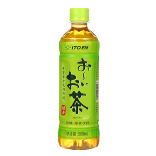 ITOEN 伊藤园 绿茶(无糖)500ml*24瓶 整箱