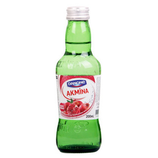 AKMINA 阿卡娜 石榴味 充气饮料 200ml*6瓶