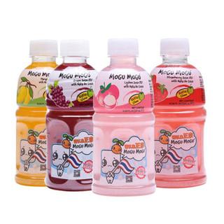 MOGU MOGU 磨谷磨谷 混合四种口味椰果果汁饮料